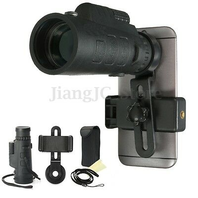 35x50 HD Optical Optic Monocular Night Vision Hunting Camping Telescope + Holder