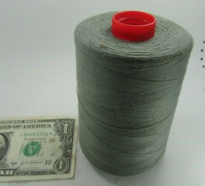 6000 Yd Spools Military Thread, Mil-T-3530H Cotton Wrap Poly Quarpel Sage Green