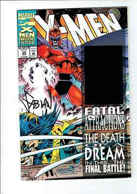 X-Men - Vol. 1 # 25 SIGNED by Fabian Nicieza Fatal Attractions Hologram Cover