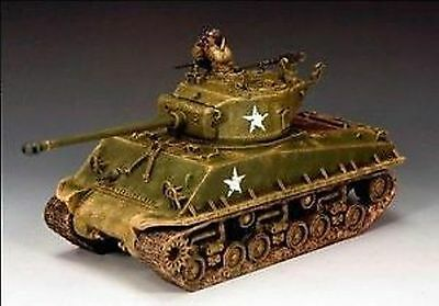 KING AND COUNTRY WW11  D DAY  US  M4A3E8  EASY-EIGHT  SHERMAN DD179 ( reduced )