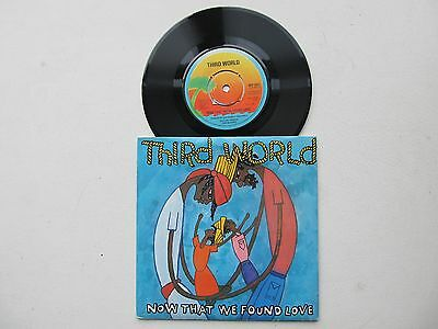 "Now That We found Love 7"" 45RPM Third World Island Records WIP 6457 UK 1978"