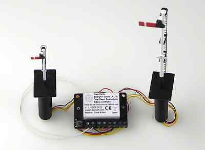 SC3 Train-Tech One Touch DCC Dapol Semaphore Dual Signal Controller - Railway
