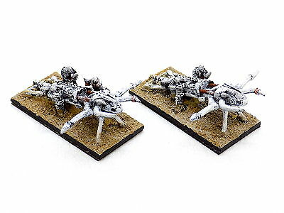 Warmaster Undead Tomb Kings BONE THROWERS x2 Well Painted Citadel 34164