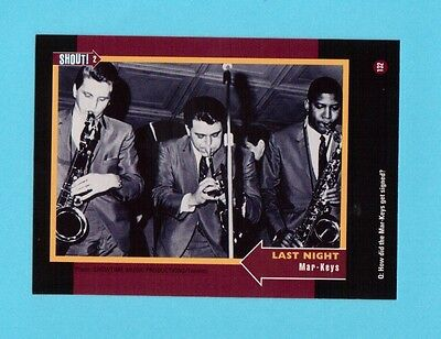 Mar-Keys Soul Music Collector Card  Have a Look!