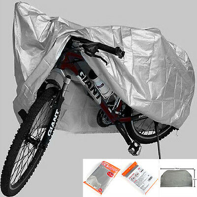 NEW Bicycle Cycling Rain Cover Dust Waterproof Garage Outdoor Scooter Protector