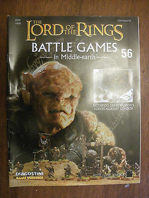The Lord Of The Rings Battle Games In Middle Earth Magazine Issue 56