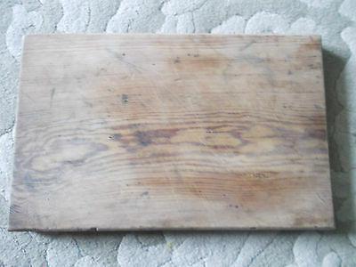 Vintage Wooden Chopping/ Bread Board