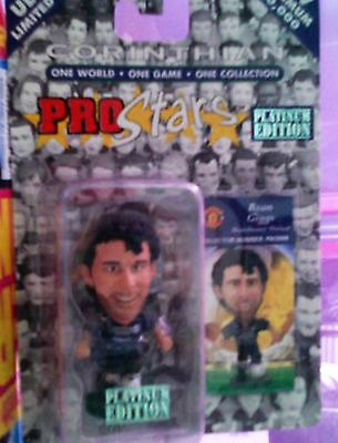 Mint*ultra Ltd*sealed*90's*pro*stars*platinum*edition*ryan Giggs*manchester Utd