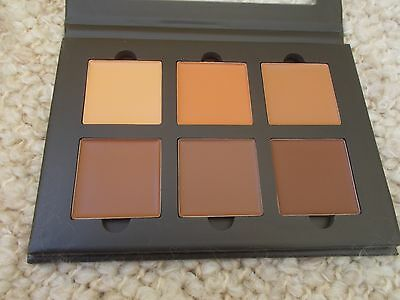 Authentic Anastasia Beverly Hills Contour Cream Kit Deep Six Shades Heavy Light