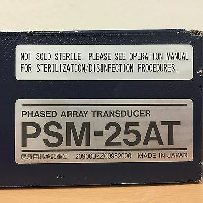Toshiba PSM-25AT 2.5/5.0MHz Sector Ultrasound Transducer Probe
