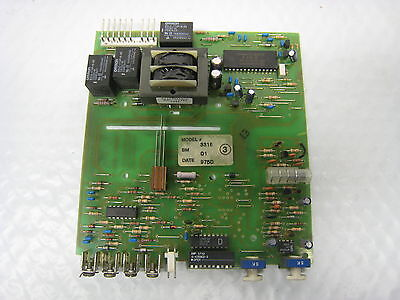 Stanley 3316 Garage Door Opener Logic Control Circuit Board Used Free Shipping