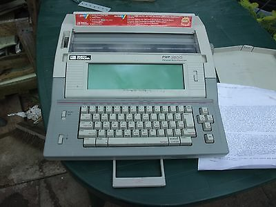 VINTAGE SMITH CORONA PWP 3600 PERSONAL WORD PROCESSOR Fully WORKING