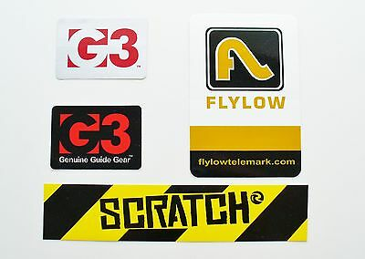 G3, Flylow And Rossignol  - Sticker Kit