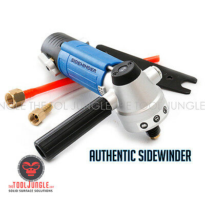 Air Polisher For Wet Diamond Polishing Pads Sidewinder Pneumatic Water Polisher