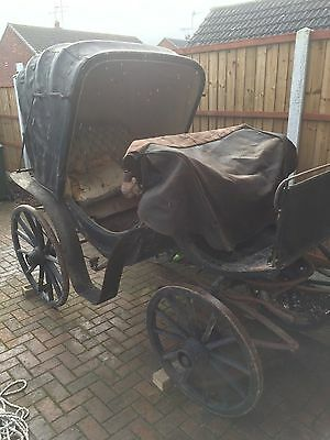 French Victoria Carriage C 1850's for Restoration, Superb Historical Piece
