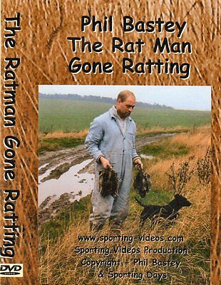 RATTING DVD - THE RATMAN - GONE RATTING - ratting,terriers,patterdale,whippet