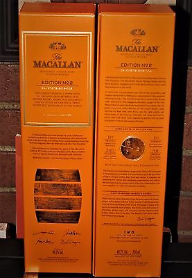 1 x Wky. The MACALLAN EDITION Nº 2 ♦ 70cl ♦ With ROCA Brothers Collaboration.