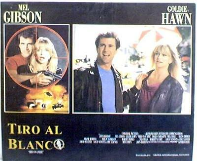 Mel Gibson, Goldie Hawn BIRD ON A WIRE lobby card, 1990