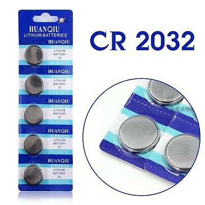 5 Pcs Button battery 3V Coin Cells Button Battery 5004LC ECR2032 CR2032 EE6227
