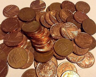 1p One Penny UK Coin 1974 1982 1983 1984 1985 1992 2016 Rare 2008 Portcullis