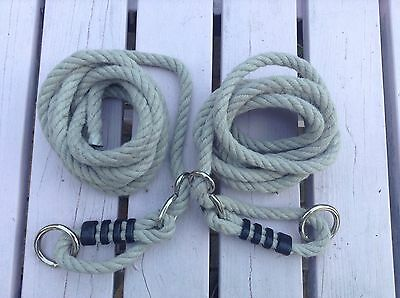 1 Set Of Swing rope Replacement Swing Rope For All Swings Seats 1xSet Tyre Swing