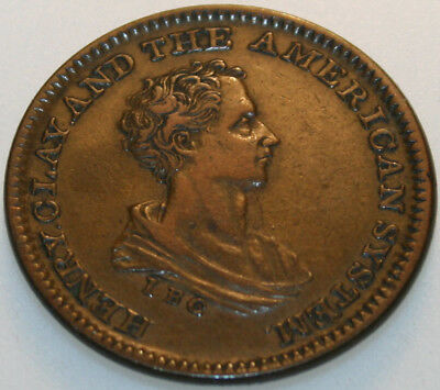 (1840) Hard Times Token HT-79 Henry Clay [SN01]