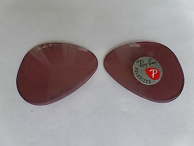 New Ray Ban Replacement lenses RB3025 Pink 100% Authentic 58mm