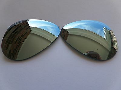 New Ray Ban Replacement lenses RB3025 Silver Mirror 100% Authentic 58mm