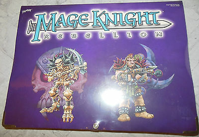 WizKids Mage Knight Rebellion Carrying Case WZK902 (Mint, Sealed)