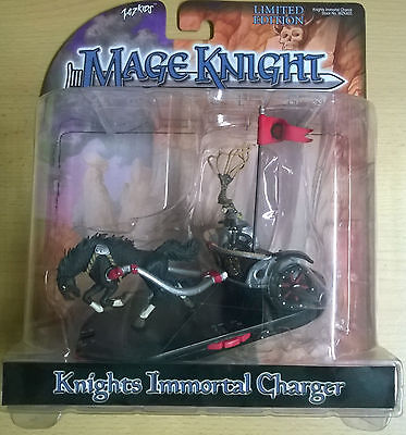 WizKids Mage Knight Rebellion Knights Immortal Charger Limited Edition (Mint)