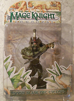 WizKids Mage Knight Conquest Doom Blade Orc Cyclops (Mint, Sealed)