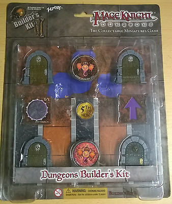WizKids Mage Knight Dungeons Builder's Kit (Mint, Sealed)