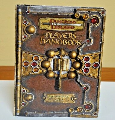 Dungeons & Dragons, D&D, D20, Players Handbook, v3.5