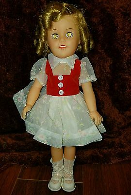 """Vintage Shirley Temple doll Ideal 14"""""""