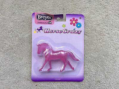 New NIP Breyer Horse Crazy Stablemate #6009 Frosted Pink Decorator Warmblood G3