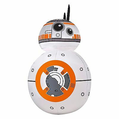 Disney Star Wars BB-8 3.5' LED Lighted Airblown Inflatable New Gemmy BB8