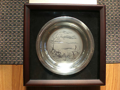 ETCHINGS by Sir Russell Drysdale  Authentic/Original Silver plated PLATES set 4