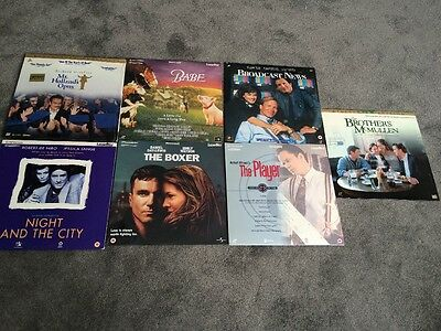 Collection Of Laser Discs X 7