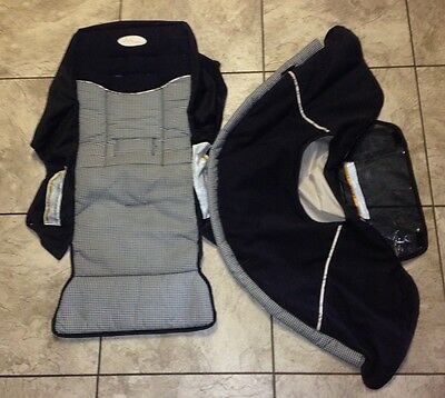 Rear CANOPY & SLING/SEAT - Graco Duo Glider Stroller - No Stroller