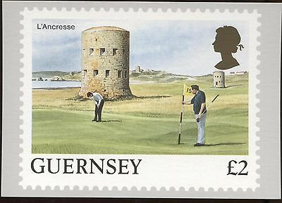 Definitive Stamp Issue Guernsey L'Ancresse Postcard C258