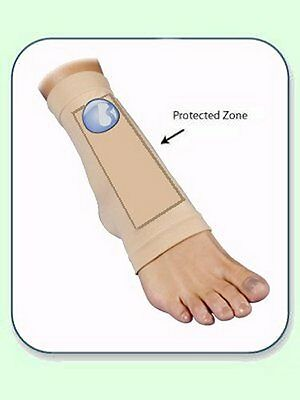 Bunga Small Lace Bite Pad PROTECTS FRONT OF FOOT - WORLD FAMOUS FOOT PROTECTION