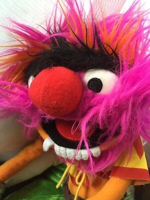 The Muppets ANIMAL Soft Toy 18 inches VGC Jim Henson