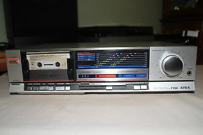 Aiwa AD-F250 Stereo Cassette Deck (1984-86) Playback Only SINGAPORE
