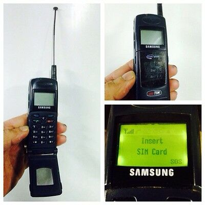 Samsung Sgh2100 Untested Mobile Cell Phone Rare Retro Collectable  Sammler Works