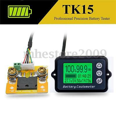 TK15 High Precision LiFePO/Lithium/Lead Acid Battery Tester Coulomb Counter 50A