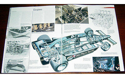 Lotus 78 Fold-out Poster + Cutaway drawing