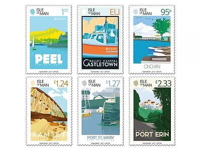 ISLE OF MAN 2017 EUROPA CEPT.CASTLES.Set 6 stamps.MNH PRE ORDER