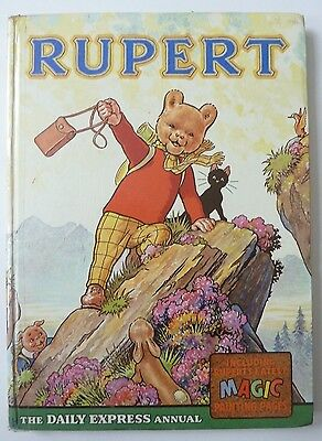 1960s RUPERT Daily Express Annual Hardback book dated 1964