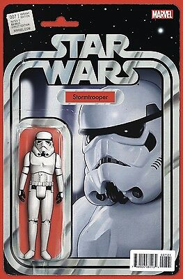 Star Wars #7 , Marvel 2015 , Christopher Action Figure Cover Variant , neuf(NM)