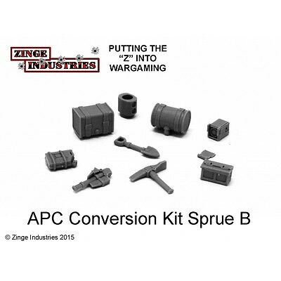 Zinge Industries Vehicle Bits Forest Sprue A Including Fuel Tanks & Tools STAU02